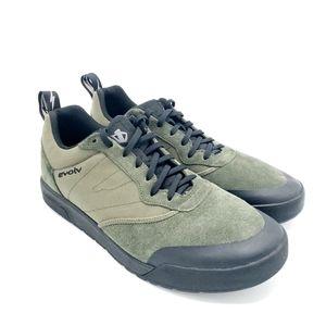 Evolv Men's Rebel Shoe Army Green Size 11